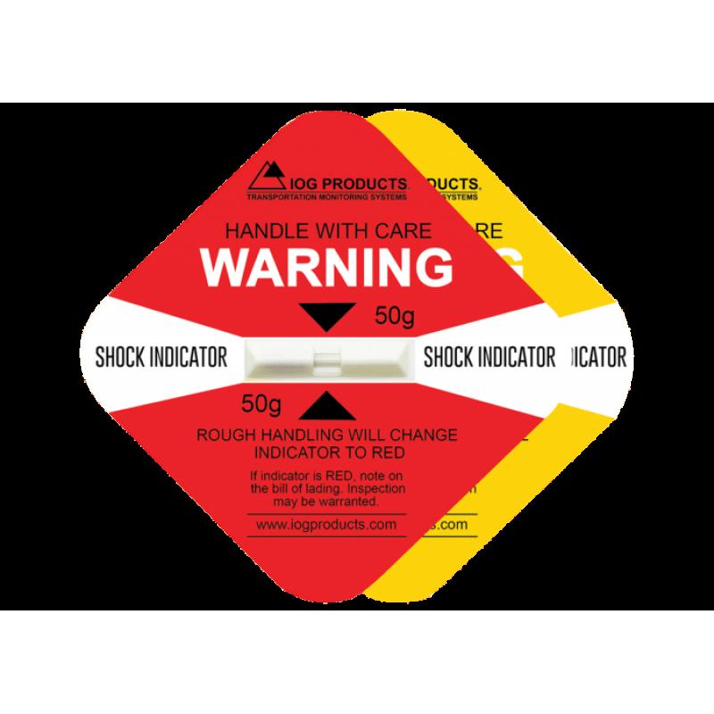 Etichete indicator de șoc IMPACT-O-GRAPH
